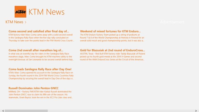 KTM News screen shot 0