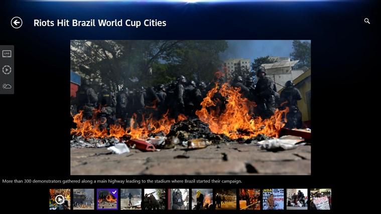 Sky News-skärmbild 2