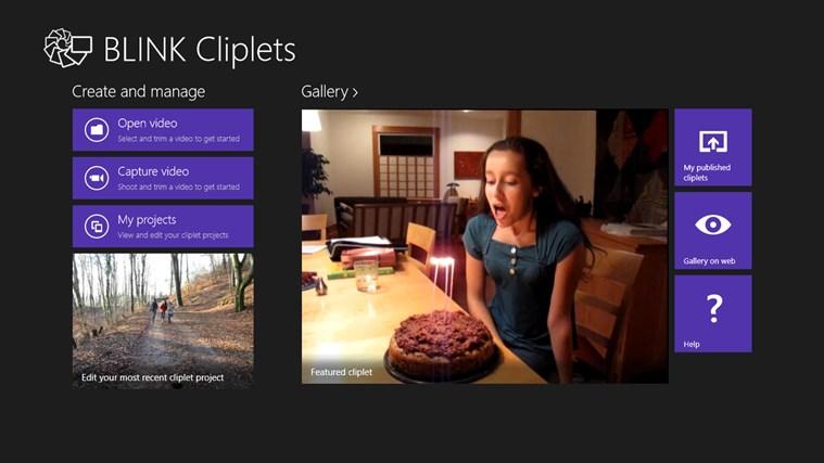 BLINK Cliplets screenshot
