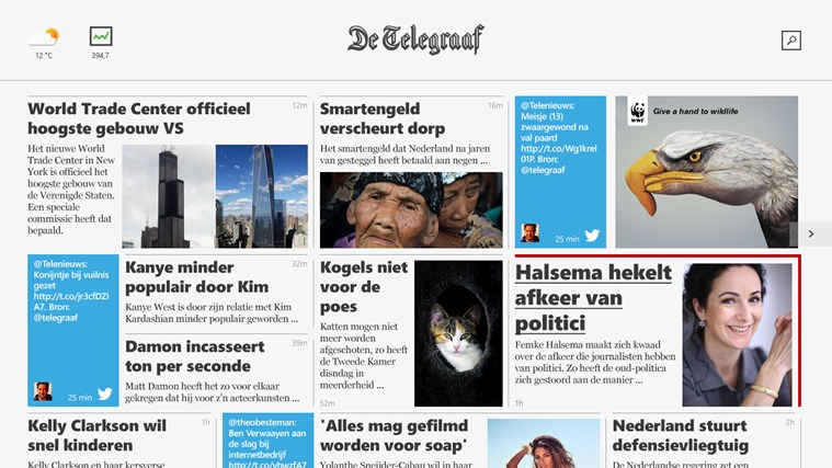 De Telegraaf screen shot 0