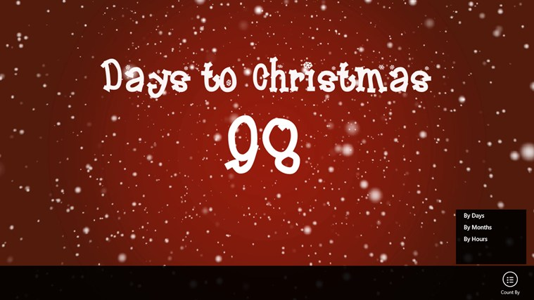 Countdown Christmas screen shot 0