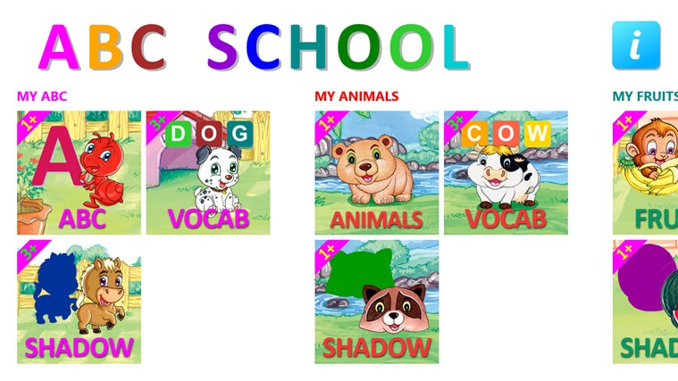 ABC School screen shot 0