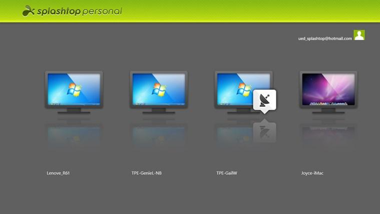Splashtop Personal - Remote Desktop screen shot 0