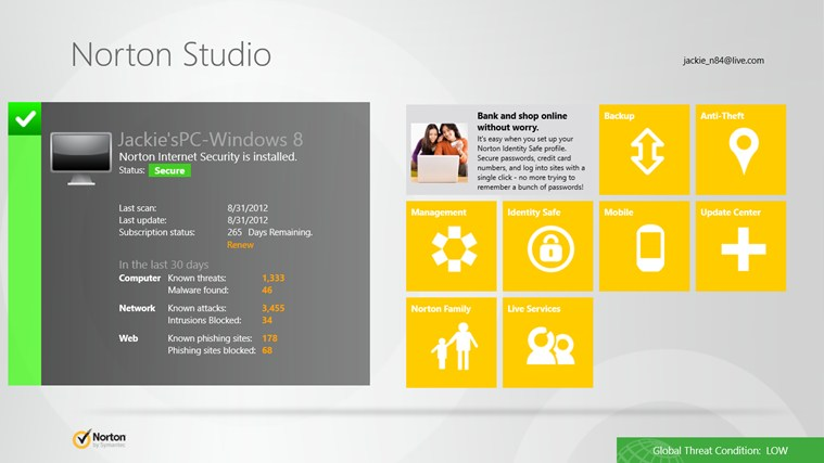Norton Studio screen shot 0