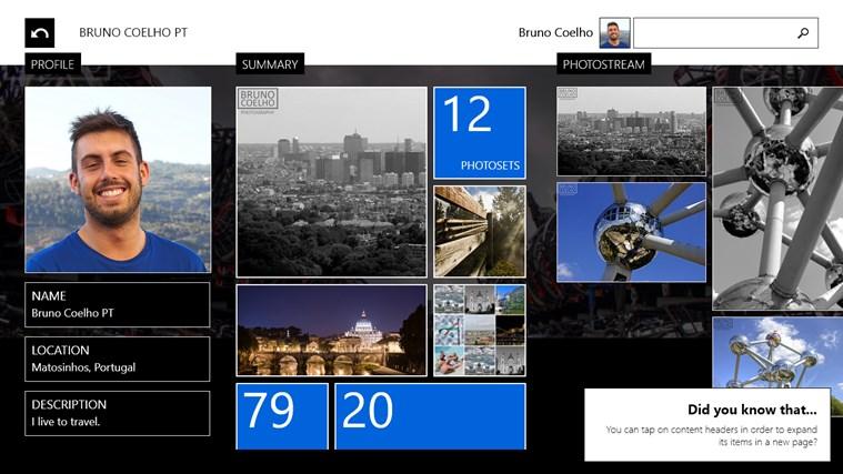 Flickrology screen shot 2
