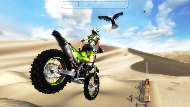 Motorbike screen shot 4