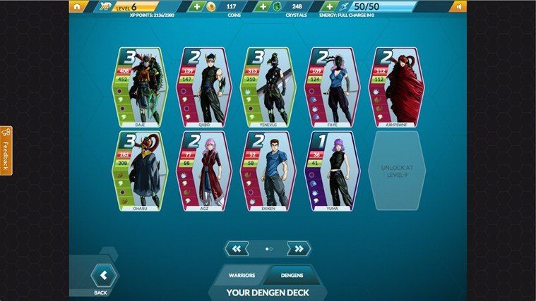 Dengen Chronicles Trading Card Game (TCG) screen shot 0