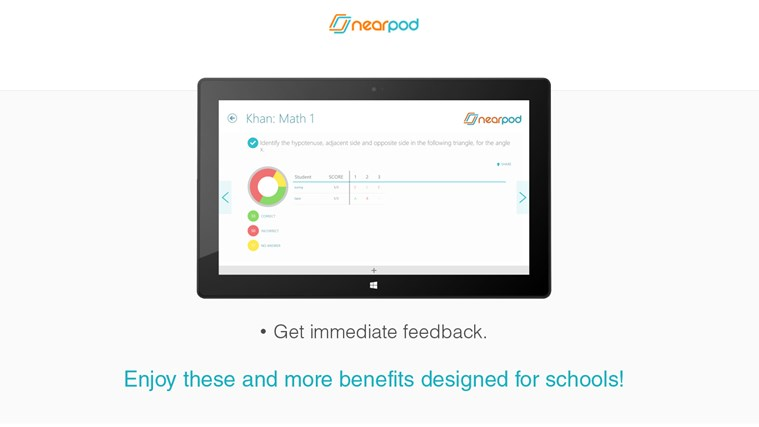 Nearpod screen shot 4