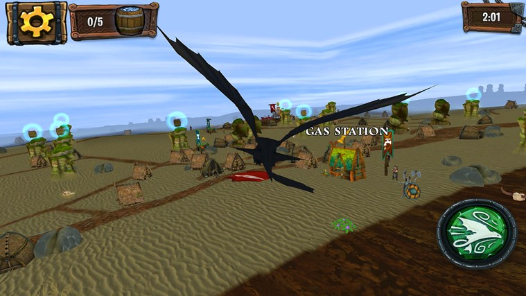 DreamWorks Dragons Adventure screen shot 2