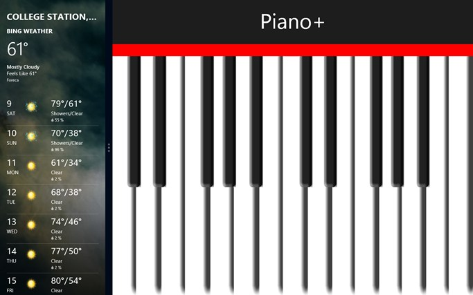 Piano! screen shot 2