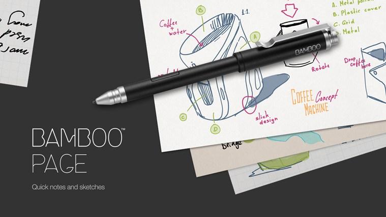 Bamboo Page captura de pantalla 0