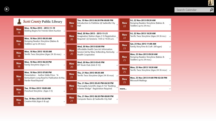 Scott County Public Library screen shot 4