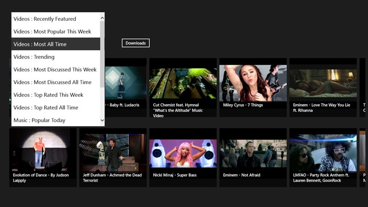 YouTube Downloader - TubeSave screen shot 0