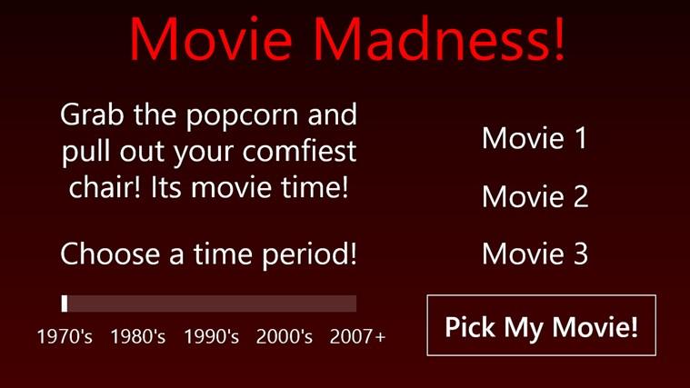 Movie Madness! full screenshot