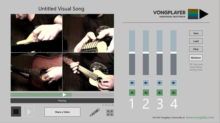 Vongplayer full screenshot