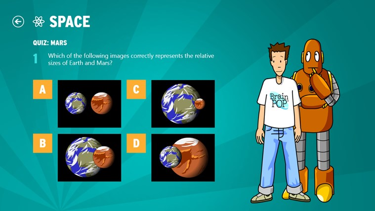 BrainPOP Featured Movie screen shot 4
