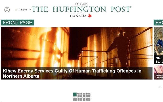 The Huffington Post Canada screen shot 0