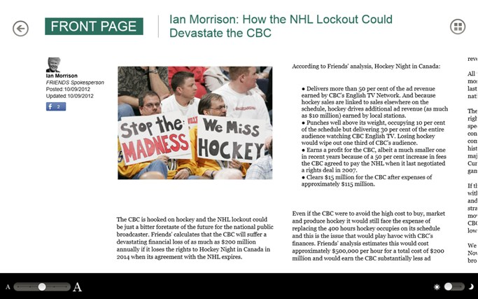 The Huffington Post Canada screen shot 6