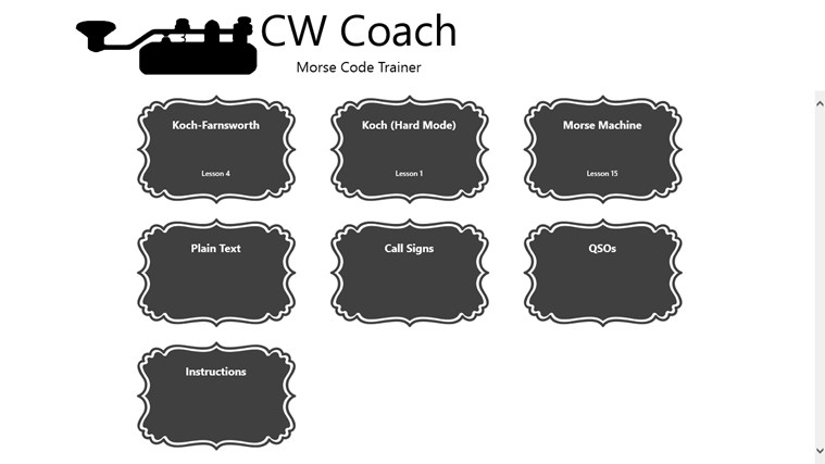 CW Coach screen shot 0