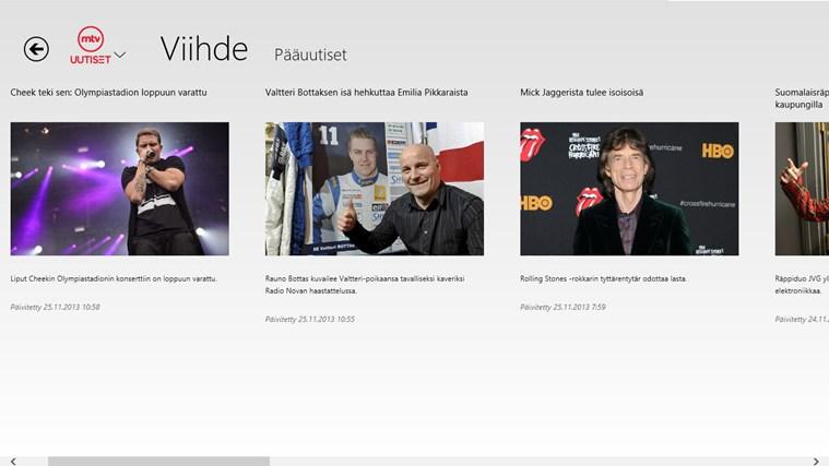 MTV Uutiset näyttökuva 4