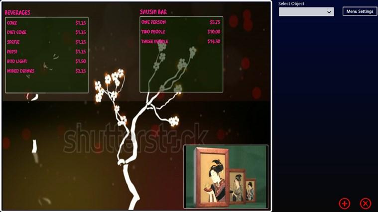 My Digital Menu Boards screen shot 6