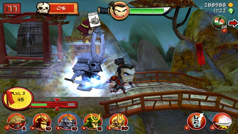 Samurai vs Zombies Defense screen shot 2