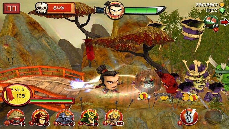 Samurai vs Zombies Defense screen shot 4