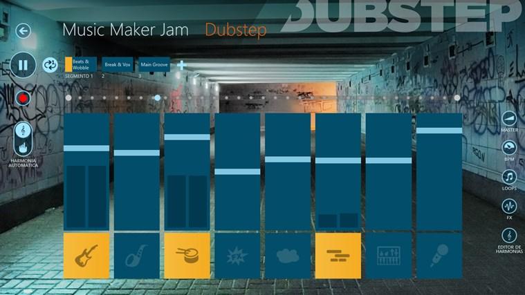 Music Maker Jam captura de tela 0