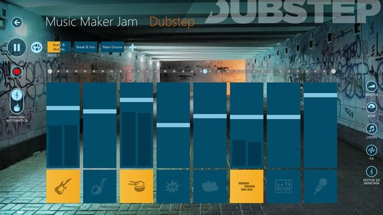Music Maker Jam captura de pantalla 0