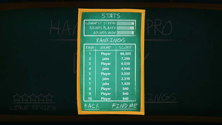 Hangman Pro screen shot 4
