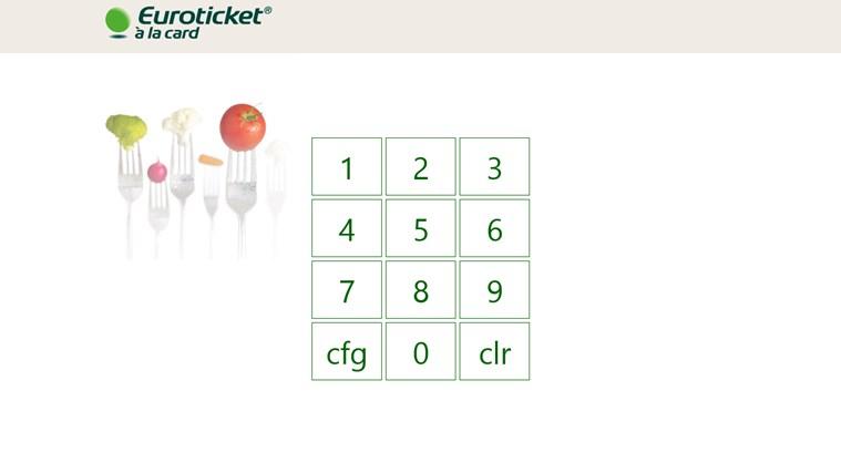 Euroticket - à la card captura de ecrã 0
