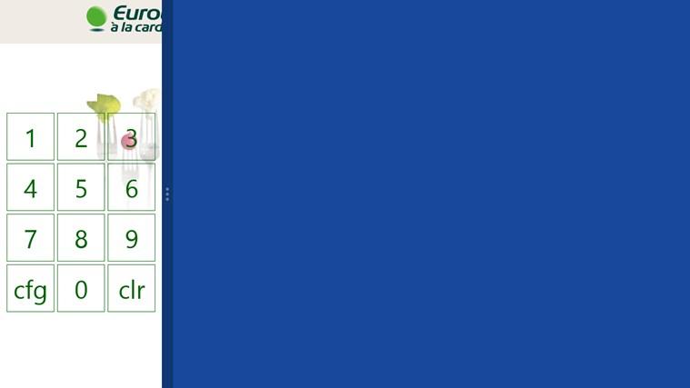 Euroticket - à la card captura de ecrã 2