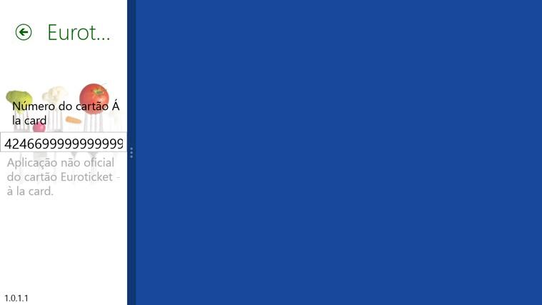 Euroticket - à la card captura de ecrã 4