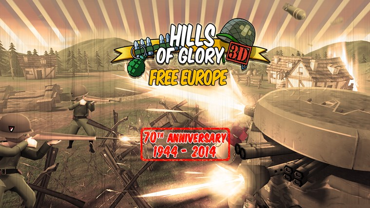 Hills Of Glory 3D screen shot 0