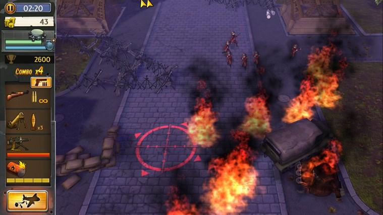 Hills Of Glory 3D screen shot 2