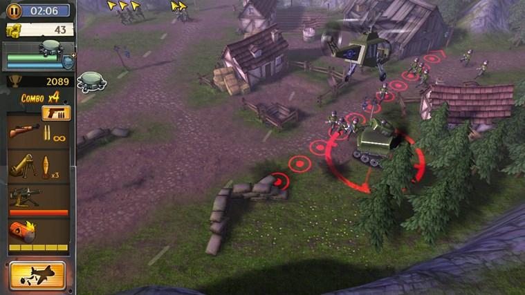 Hills Of Glory 3D screen shot 4