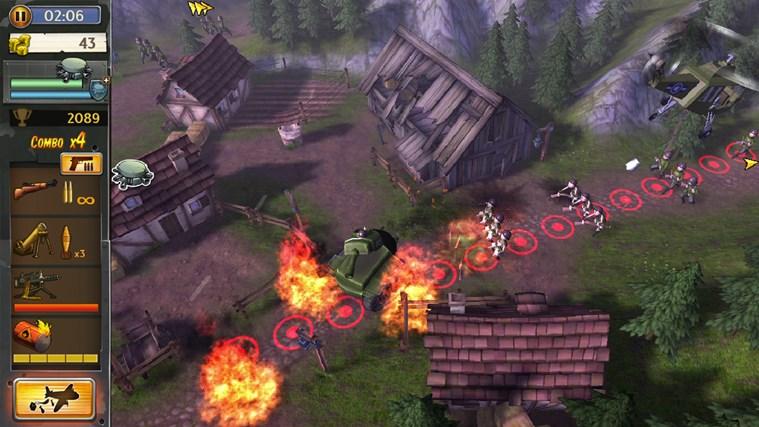 Hills Of Glory 3D screen shot 6