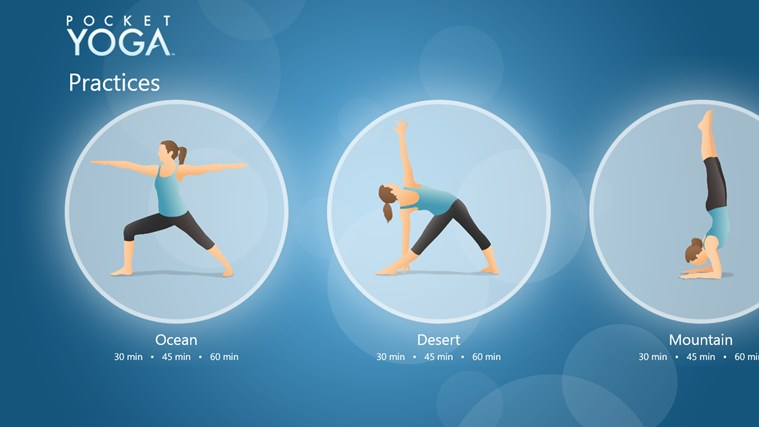 Pocket Yoga screen shot 0