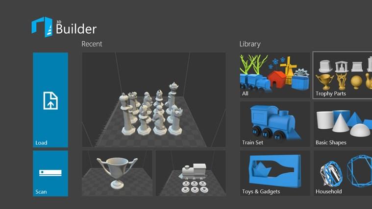 3D Builder screen shot 0