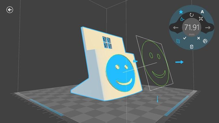 3D Builder screen shot 6
