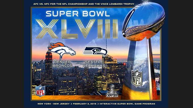 Super Bowl XLVIII – NFL Official Program screen shot 0