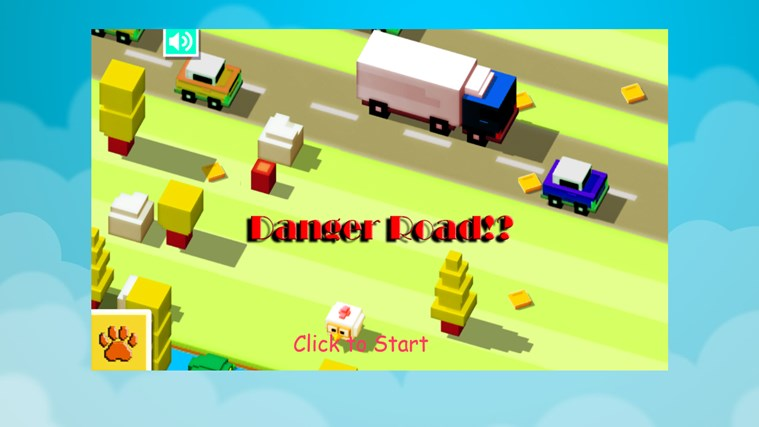 Danger road app for windows in the windows store