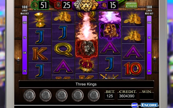 play free igt slots usa three kings