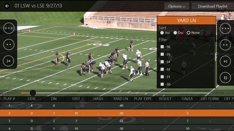 Hudl screen shot 4