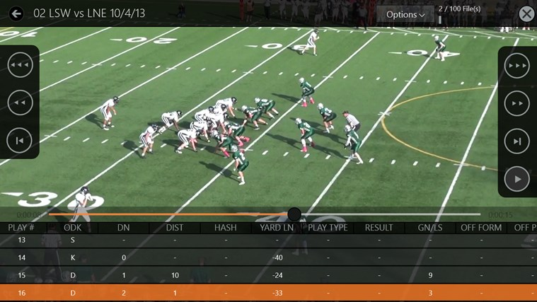 Hudl screen shot 6