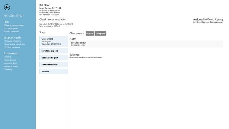 Casenot.es for Semitae Lite screen shot 0