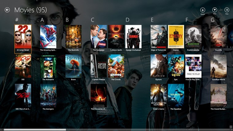 Plex screen shot 2