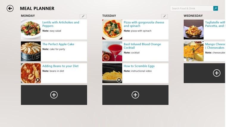 MSN Food & Drink screen shot 2