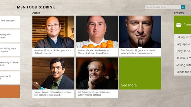 MSN Food & Drink screen shot 4