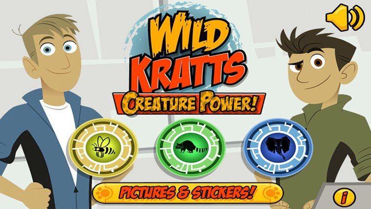 Wild Kratts Creature Power screen shot 0